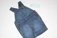 Gymboree Brand New Baby Boys Lemur Lagoon Overalls Outfit Size 0-3 M Denim NEW