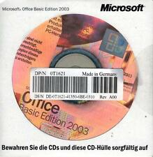 MS Excel 2003,Word 2003 und Outlook 2003 als OEM Vollversion in deutsch