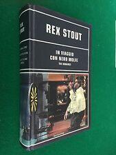 Rex STOUT - IN VIAGGIO CON NERO WOLFE , 1° Ed Omnibus (2003)
