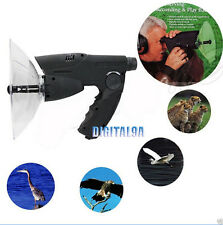 Parabolic Microphone Monocular X8 Bionic Ear Long Range Spy Birds Listening 100M