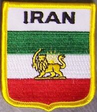 Embroidered International Patch National Flag of Iran NEW bunting