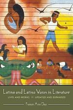 Latina and Latino Voices in Literature: Lives and Works Updated and Ex-ExLibrary