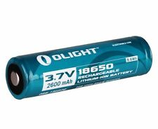 Olight 2600mAh 18650 Protected Rechargeable Battery for M22 M18 M20-X M3X M20S