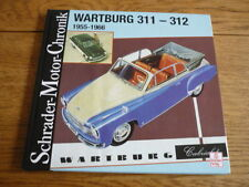 WARTBURG 311 312 BROCHURE BOOK  jm