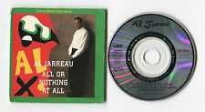 Al Jarreau 3-INCH-cd-maxi ALL OR NOTHING AT ALL remix © 1989 WEA 3-tr FUNK soul