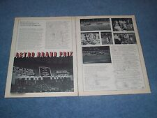 1969 1st Astro Grand Prix Vintage Midget Race Highlights Article USAC Houston