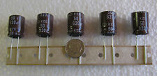 10 Nippon 820uF 50V KZE Low Imp Long Life High Ripple Electrolytic Capacitors