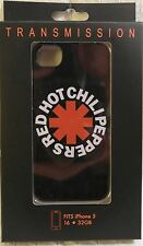 Red Hot Chili Peppers Black Hardshell Cell Phone Cover Case for iPhone 5 New