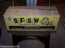 SAF-T-SAW Electric Jig Saw Carnival Toy MFG Corp No. 900 in OB working order