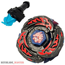 Fusion METAL Beyblade BB108 L-Drago Destroy Destructor+BLUE LAUNCHER+GRIP