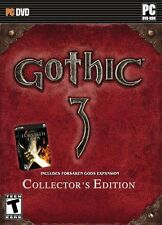 Gothic 3 Collector's Edition PC New Sealed in Tin Box