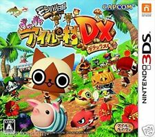 Used 3DS Monster Hunter Poka Airou Village DX NINTENDO 3DS JAPANESE  IMPORT