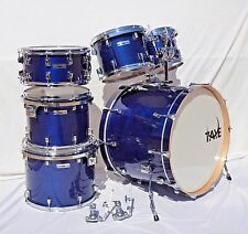 New Taye Drums StudioMaple 6 Piece Shell Pack In Indigo Blue Finish