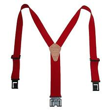 New Perry Suspenders Mens 1.5 Inch Wide Elastic Hook End Suspenders (Reg & Tall)