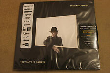 Leonard Cohen - You Want It Darker CD NEW SEALED POLISH STICKERS