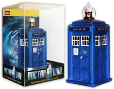 "DOCTOR WHO TARDIS FIGURAL CHRISTMAS ORNAMENT 4.25"" $12.99 NEW IN ACRYLIC PACKAGE"