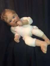 """Lee Middleton 071294 Treasured 19"""" Doll Weighted Thumb Sucker TLC Ink? Spots"""