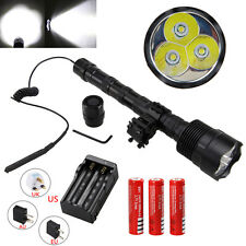 3800Lm Vastfire CREE XM-L T6 LED Flashlight Linterna Remote Pressure Switch