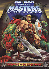 TV-HE-MAN & THE MASTERS OF THE UNIVERSE: ORIGINS DVD NEW