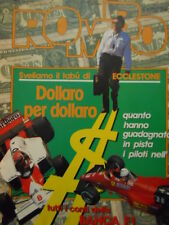 ROMBO 51 1984 con maxi poster FABBRI & CECCHINI campioni RITMO ABARTH
