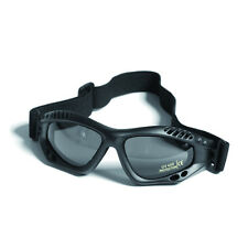 Commando AIR PRO Goggles - BLACK TINTED Airsoft Paintball Army UV 400 Protection