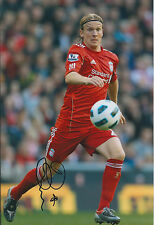 Christian POULSEN Autograph SIGNED 12x8 Photo AFTAL COA Liverpool AJAX