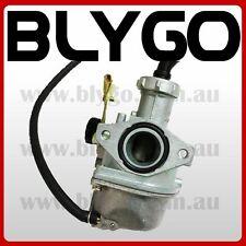 HS PZ19mm Cable Choke Carby Carburetor 110cc 125cc PIT Quad Dirt Bike ATV Buggy