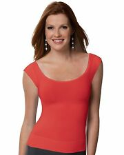 NWOT SPANX On Top and In Control Cap Sleeve Scoop Neck Top Layering Undershirt M