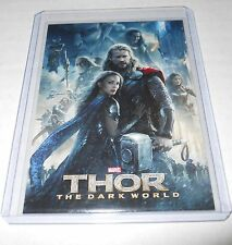 Marvel Movie Credits Trading Card Thor The Dark World #97