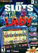 IGT Slots: Lil Lady (PC Games) - NEW - FREE SHIPPING