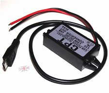 Car Charge DC Converter Module 12V To 5V Micro USB Output Power Adapter 3A 15W E