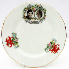 Vintage Queen Anne Bone China Tea Plate Prince Charles Princess Diana Wedding