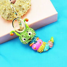 Sugar treasure Keychain Crystal Keyring Key Ring Chain Bag Charm Pendant gift