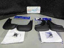 Genuine Volvo S40 V50 Front & Rear Mud Guard Set for unpainted sills OE OEM