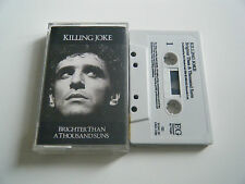 KILLING JOKE BRIGHTER THAN A THOUSAND SUNS CASSETTE TAPE EG (1986)