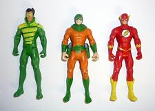DC UNIVERSE CRISIS SET Weather Wizard Flash Mirror Monster Figures COMPLETE