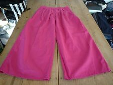 "Fantastic CAMILLA & MARC ""The Sovereign Jean"" Wide Cut PINK Trouser Jeans, 10-12"