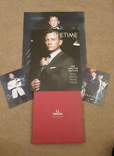 OMEGA Lifetime James Bond 007 spettro MAG 2015 RIGIDA Book Plus POSTER / CARDS