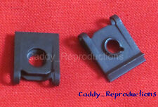 1946 - 1966 Cadillac #14 U Clip Type Nut Nuts Pair Clips