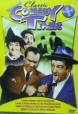 The BEST of CLASSIC COMEDY TEAMS VOLUME ONE Laurel & Hardy & Abbott & Costello