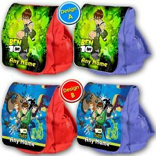 Personalised BEN 10 TEN school bag kids childrens backpack rucksack nursery NEW