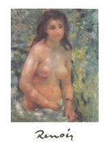 Renoir Mädchen in der Sonne Poster Kunstdruck Bild 70x50cm - Kostenloser Versand