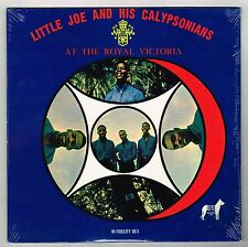 elite LP : LITTLE JOE & CALYPSONIANS at the royal victoria    (sealed)   calypso