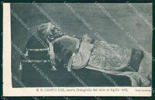 Roma Vaticano Papa Leone XIII cartolina XB1826