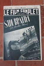 Le Film Complet du Jeudi SIDI BRAHIM LES DIABLES BLEUS RENE BIANCO N°2327 1939
