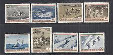1954 Russia 1710-1717/1844-1851 MNH Set of 8, Sports: Basketball, Sailing, Swim*