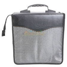 New 520 Disc Cd Dvd Holder Dj Storage Case Pvc Cd Bag Album Black #853 Us-1