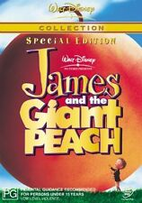 James and the Giant Peach DVD NEW
