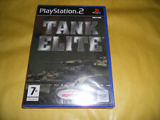 PS2 GAME:TANK ELITE-SIGILLATO-SONY PLAYSTATION-PS1-PS2-PS3-ITA-ITALIANO