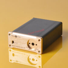 Mini Digital Power Amplifier T-amp Enclosure Aluminium Chassis Case Audio Gold